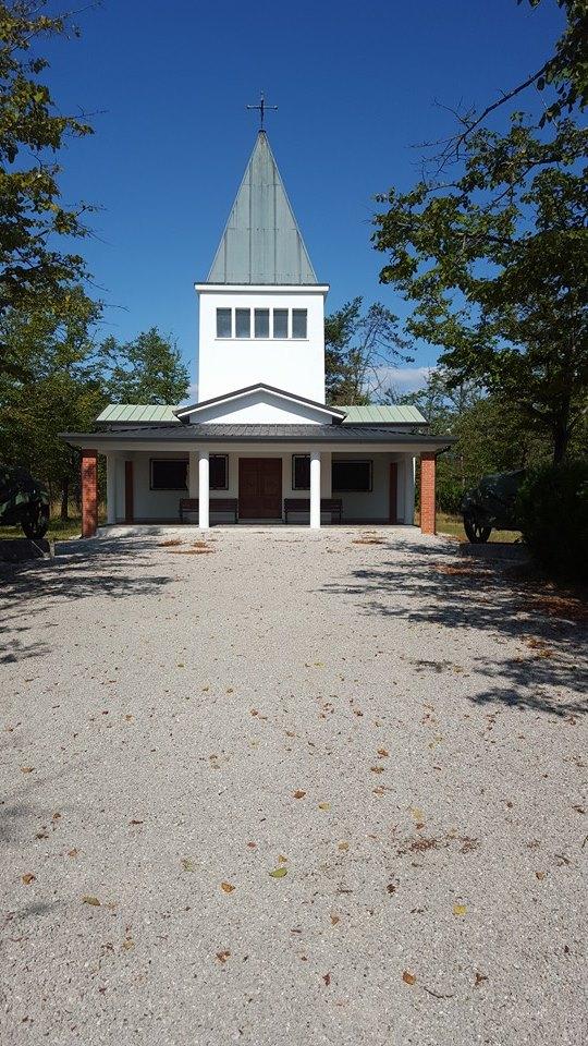 isola dei Morti chiesa