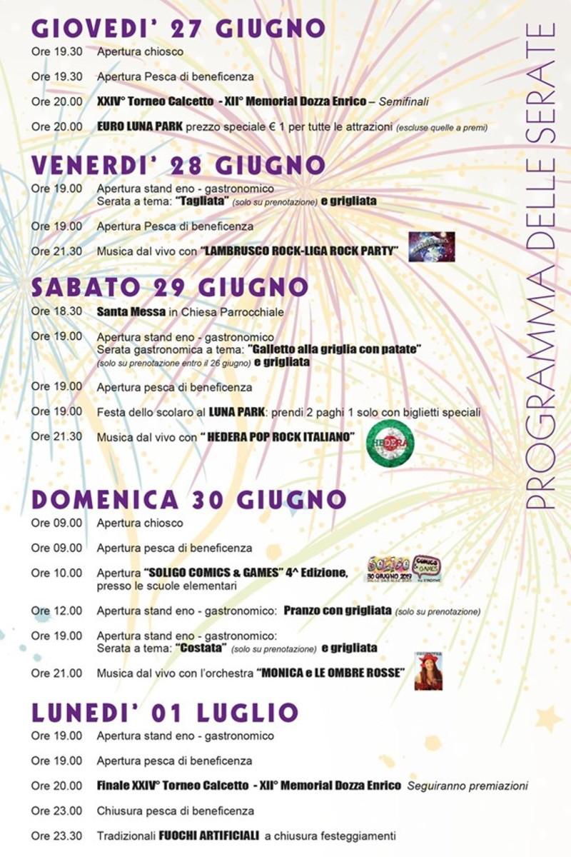 Calendario Santi Ottobre 2020.Eventi Venetando Festeggiamenti Dei Santi Pietro E Paolo A