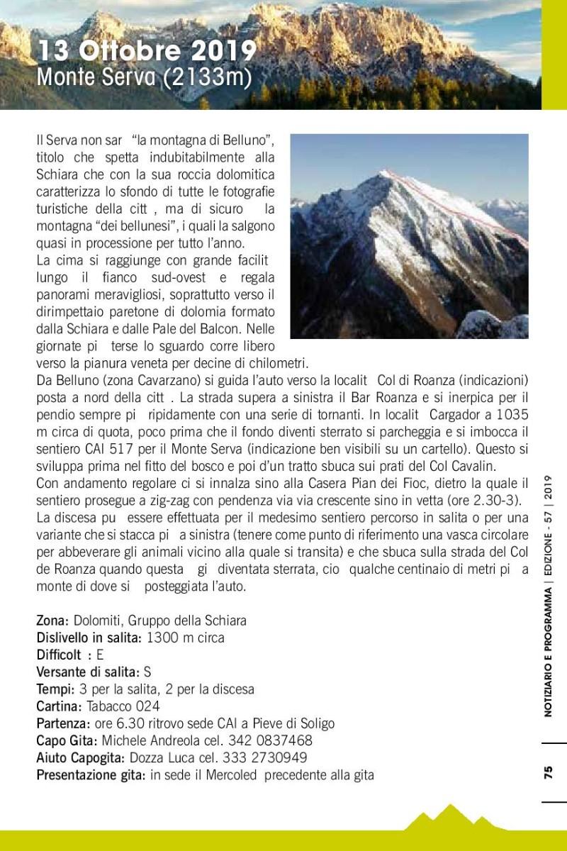 Cartina Tabacco 024.Eventi Venetando Escursione Sul Monte Serva