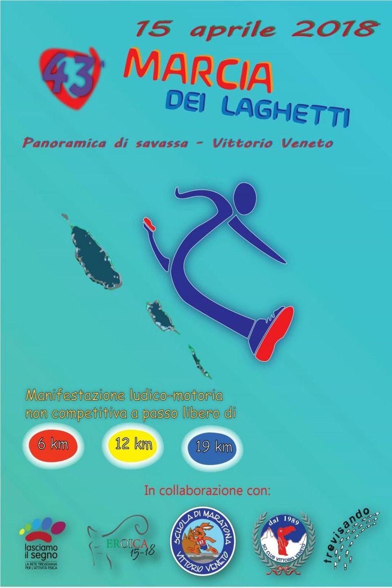 Calendario Marce Veneto.Eventi Venetando 43 Marcia Dei Laghetti Panoramica Di