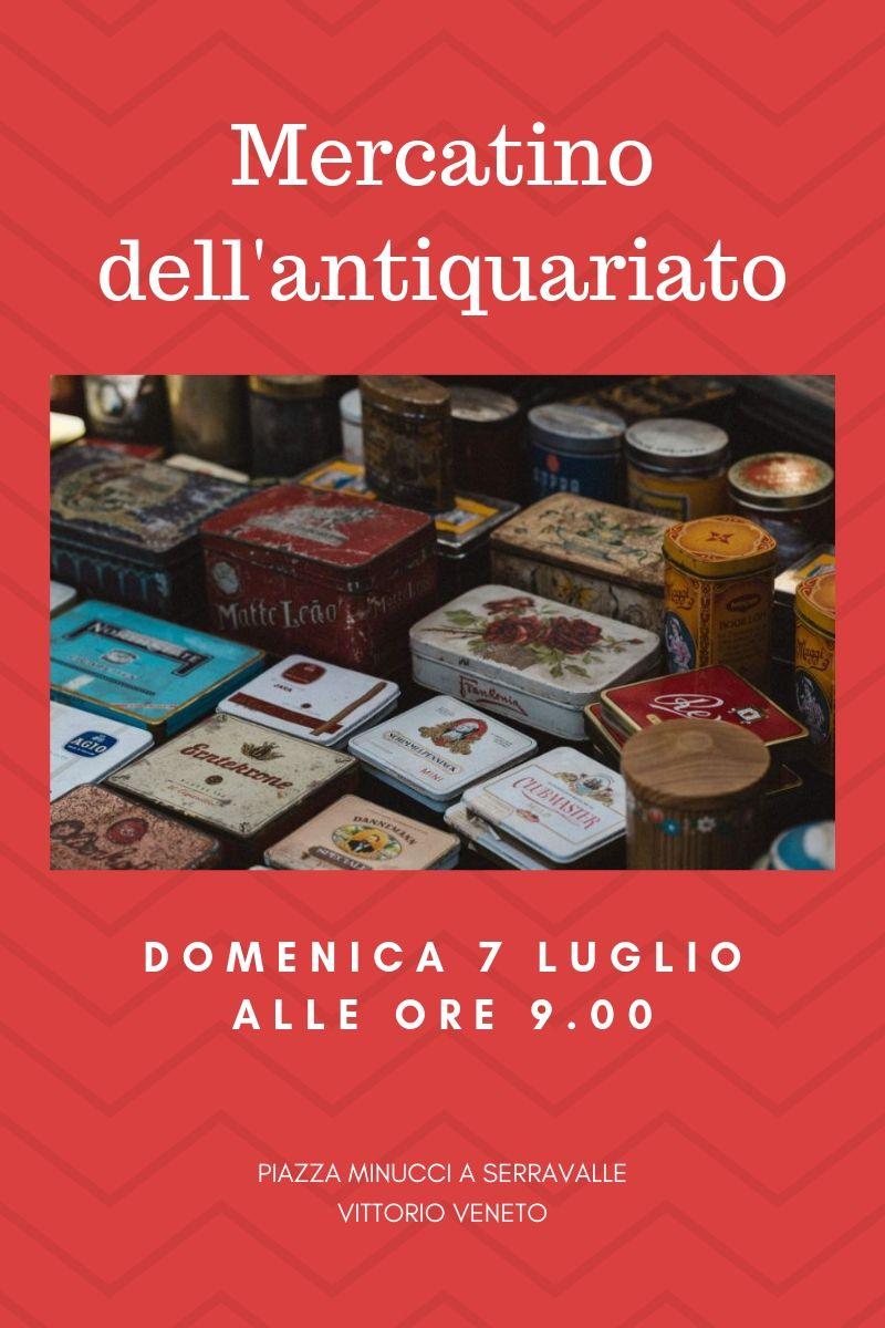 Calendario Mercatini Veneto.Eventi Venetando Mercatino Dell Antiquariato A Serravalle