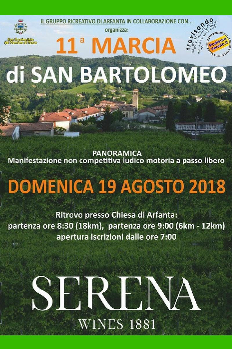 Calendario Podismo Veneto Ottobre 2020.Eventi Venetando 11 Marcia Di San Bartolomeo